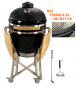 Preview: WILLS BIG Kamado Keramik Grill 21mit Fiberglasdichtung